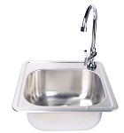 Fire Magic Stainless Sink & Facuet