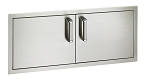 Fire Magic - Flush Mount - Reduced Height Large Double Doors