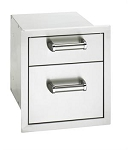 Fire Magic - Flush Mount - Double Drawer