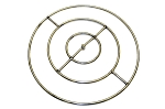 Stainless Steel Fire Ring for Fire Pit, 36