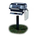 MHP Grills - JNR Grill on In-Ground Post