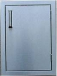 Pacific Series Brand  Stainless Steel Door-Vertical 20HX14W