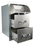 RCS Stainless Steel Drawer and Paper Towel Unit
