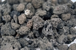 Lava Rock for Outdoor Firepits, 7 LB.