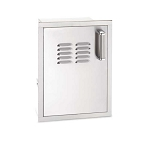 Fire Magic - Premium Flush Mount - Vertical Door with Tank Tray & Vents