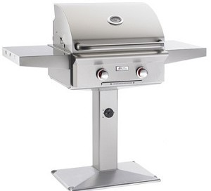"AOG - 24"" Patio Post Grill w/ Lights"
