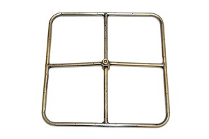 "12"" Square Fire RIng"